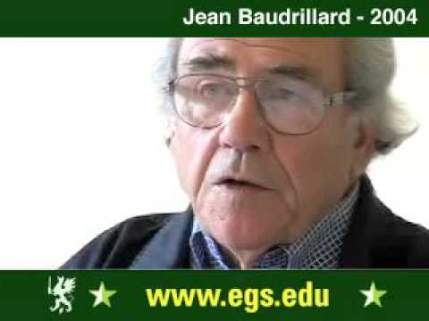 Jean Baudrillard. Seduction, Sex and Pornography. 2004 4/15