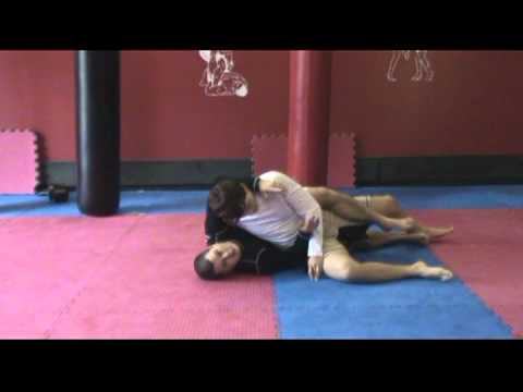 Kesa Gatame Escape - Hook the Leg Image 1