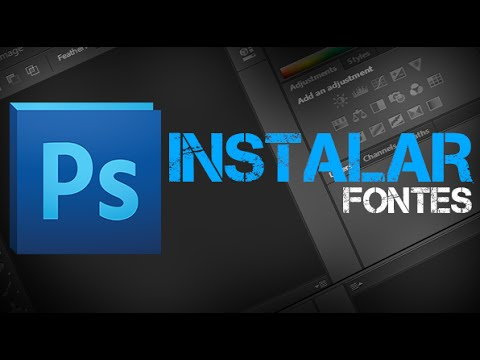 Como Instalar Fontes no PhotoShop ou CorelDRAW