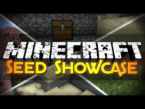 Minecraft Seed Showcase: Double Dungeon, 2 Villages, Stronghold, and More! (1.6.