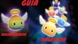 Summoners War Guia: ANGELMON Y RAINBOWMON