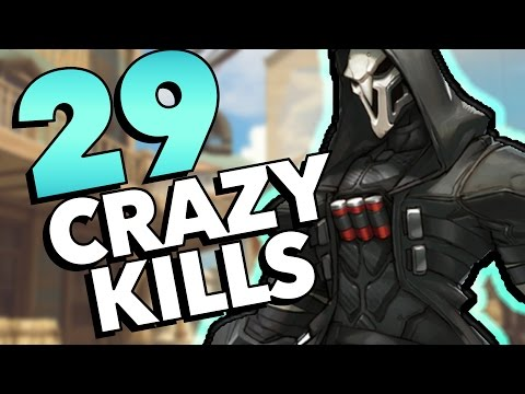 29 CRAZY KILLS - Overwatch Epic Plays Montage
