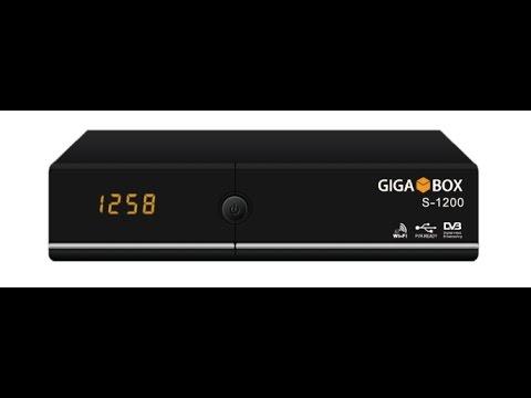 A Primeira Atualização Novo GigaBox S-1200