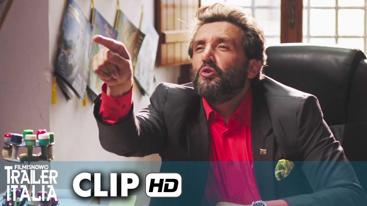 Il Professor Cenerentolo Clip 'Il permesso' (2015) - Leonardo Pieraccioni, Laura Chiatti [HD]