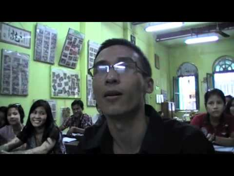 English Class In Yangon, Myanmar video