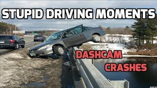 CC-TV/dash-cam accidents and Car accidents ((Compilation)) Stupid driving moments Ep .4