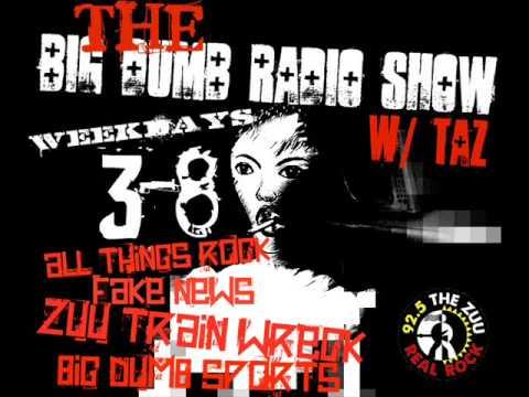 Adam Dutkiewicz of Killswitch Engage on 92.5 The ZUU's Big Dumb Radio Show w/Taz