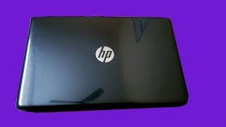 HP 15-da0297TU15.6-inch (7th Gen i3-7020U/8GB/1TB/Free DOS 2.0) Sparkling Black Laptop Unboxing
