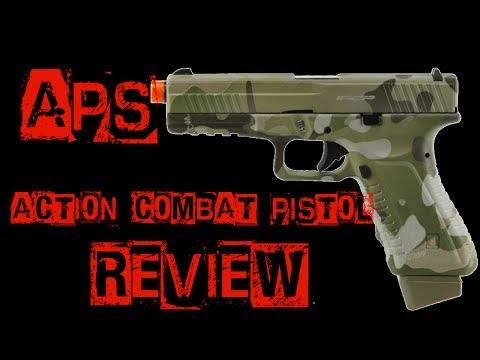 Airsoft Review APS ACP Gas Blowback Pistol From Jag Precision