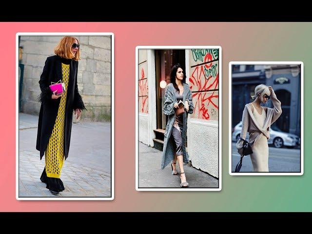 Модели вязания.Уличная мода #3 Street style.«CROCHET»