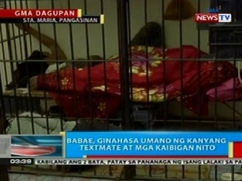 BP: Babae sa Sta. Maria, Pangasinan, ginahasa umano ng kanyang texmate at mga kaibigan nito