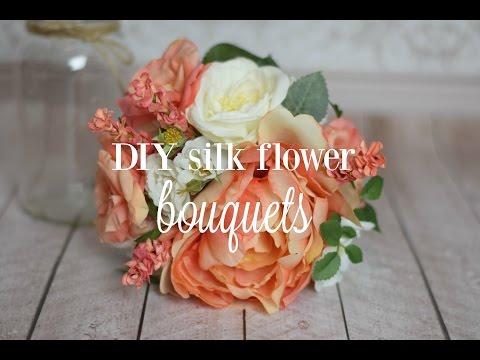 DIY Silk Flower {Bouquets}