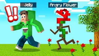 FLOWERS Are ATTACKING US In MINECRAFT! (Scary)