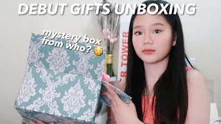 DEBUT GIFTS HAUL | MYSTERY BOX FROM WHOOO? 😳