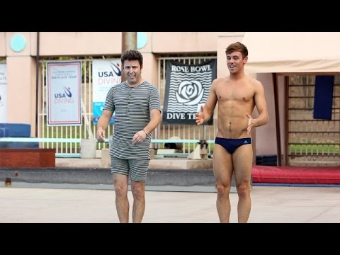 'Average Andy' with Tom Daley