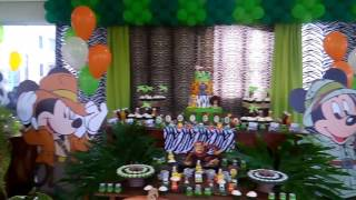 Festa Safari do Mickey