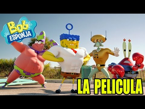 BOB ESPONJA LA PELÍCULA (Trailer Oficial) | Nickelodeon | Billy Vodka