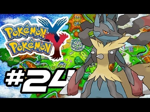 Pokemon X and Y Gameplay Walkthrough - Part 24 - TOWER OF MYSTERY!! (Pokemon Gameplay 3DS HD)