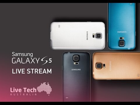 Samsung Galaxy S5 Australian Launch | LIVE Stream