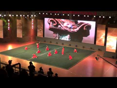 Wushu Group Performance @ Opening Ceremony of the 12th World Chin Woo Championships