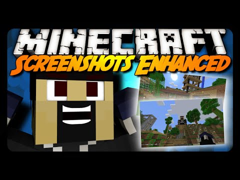 Minecraft Mod Review: SCREENSHOTS ENHANCED (1.8 & 1.7.10)