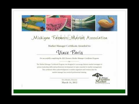 National Farmers Market Training Discussion