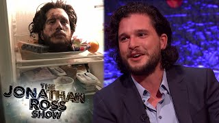Kit Harington's Epic April Fools Day Prank On Rose Leslie - The Jonathan Ross Show