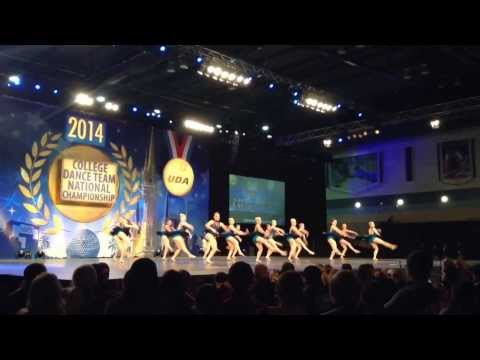University of Minnesota Dance Team UDA 2014 Nationals Semi Finals