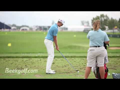 Henrik Stenson Golf Swing (Side and Back) @ 2009 US PGA
