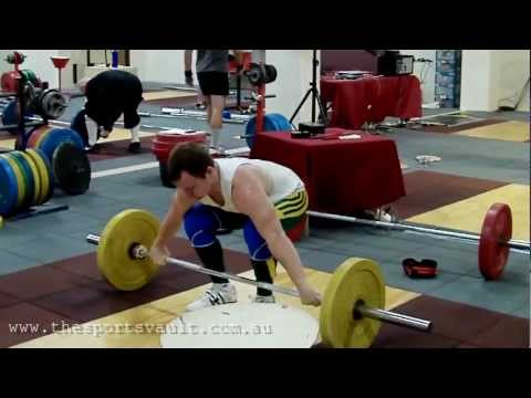Weightlifter Ben Turner - Training Olympic Lifts Image 1
