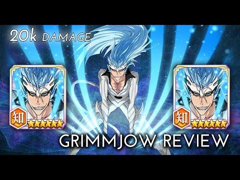 Bleach Brave Souls - Grimmjow 6★ Review!