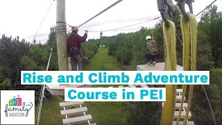 Rise and Climb Adventure Course in PEI