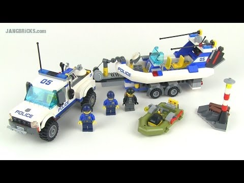 LEGO City 2014 Police Patrol 60045 set review!