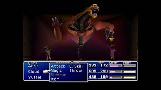 Final Fantasy VII: Demon's Gate (Boss Battle)
