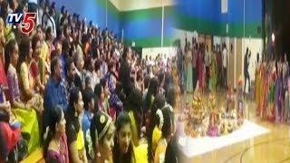 Telangana Festival Bathukamma Celebrations in Tennessee - USA  - netivaarthalu.com