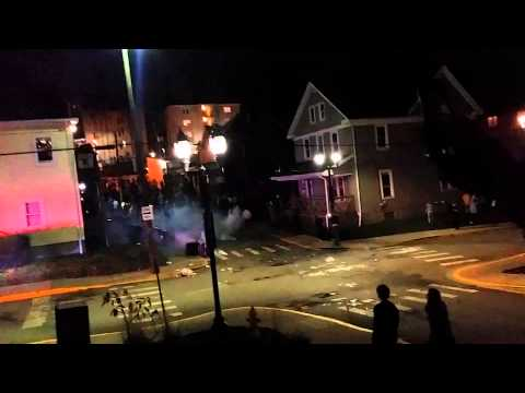 Riots break out after WVU football win