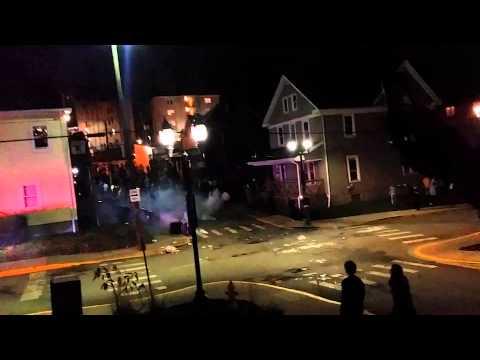 Riots break out after WVU football win