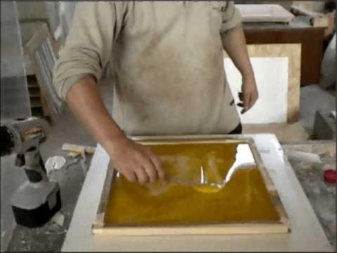 Мрамор из бетона своими руками фото
