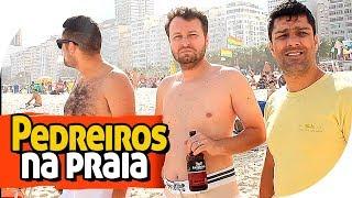 PEDREIRO QUE NUNCA FOI À PRAIA - PIADA DE AMIGOS - PARAFUSO SOLTO