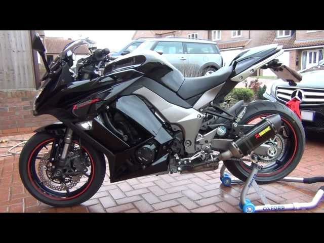 z1000sx akrapovic exhaust system... NICE!!!!!!!!!