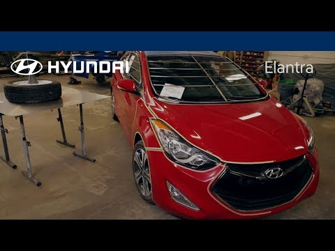 Making of the Elantra Coupe ZE: The Build