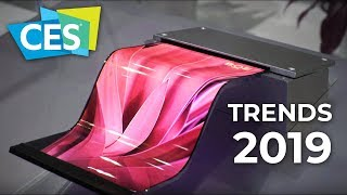 CES 2019 - 8K TV's , Foldable OLED Displays , 7Nm GPU's and much MORE !