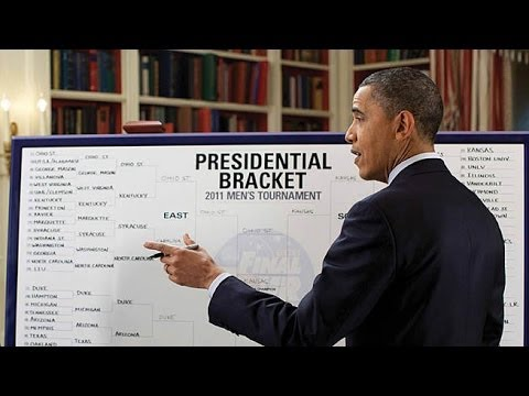 Barack Obama Bracket 2014 March Madness