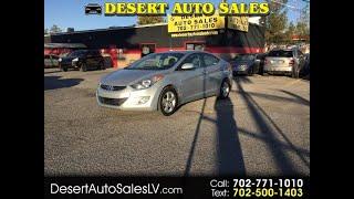 2013 Hyundai Elantra 4dr Sdn Auto GLS PZEV (Alabama Plant) Ltd Avail (Las Vegas, Nevada)