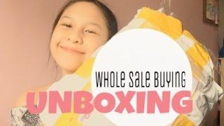 [ UNBOXING 1 ] : Wholesalebuying ( indonesia ) & GIVEAWAY!