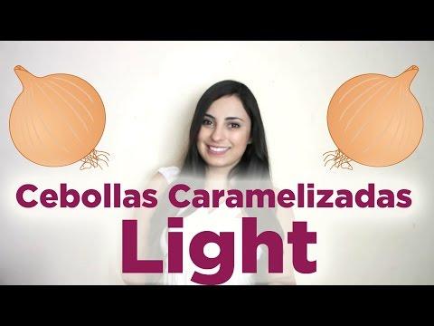 Cebollas caramelizadas bajas en calorías: Cómo caramelizar cebollas light