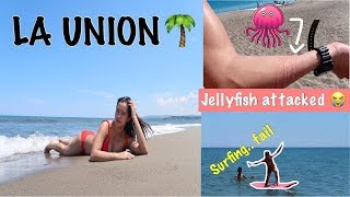 Mhicadventures: LA UNION TRIP GONE WRONG!!! (jellyfish attacked + we tried to surf)
