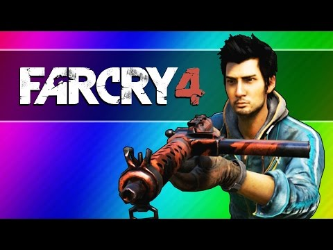 Far Cry 4 Funny Moments - Crocodile, Honey Badger 1v1, Body Glitch (Next Level Hunting)