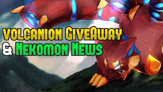 Volcanion Give-a-Way and Nekmon Updates - CakEdit News