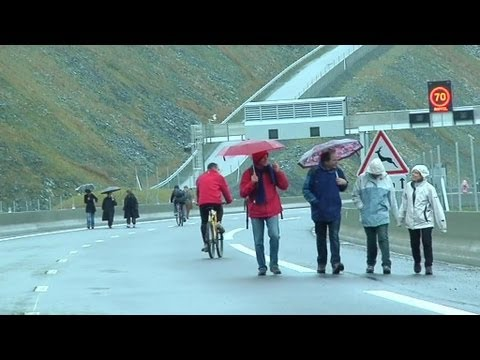 Une autoroute pour piéton en Rhône-Alpes